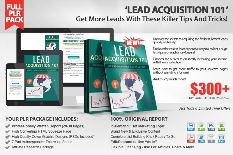 Lead Acquisition 101