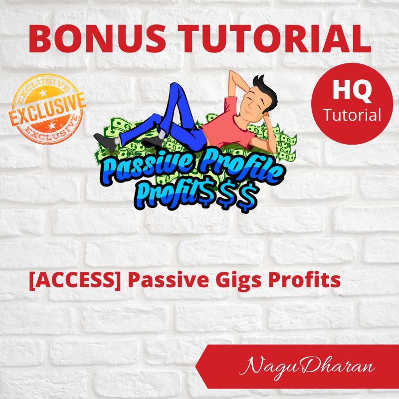 Passive Profile Profits Bonus