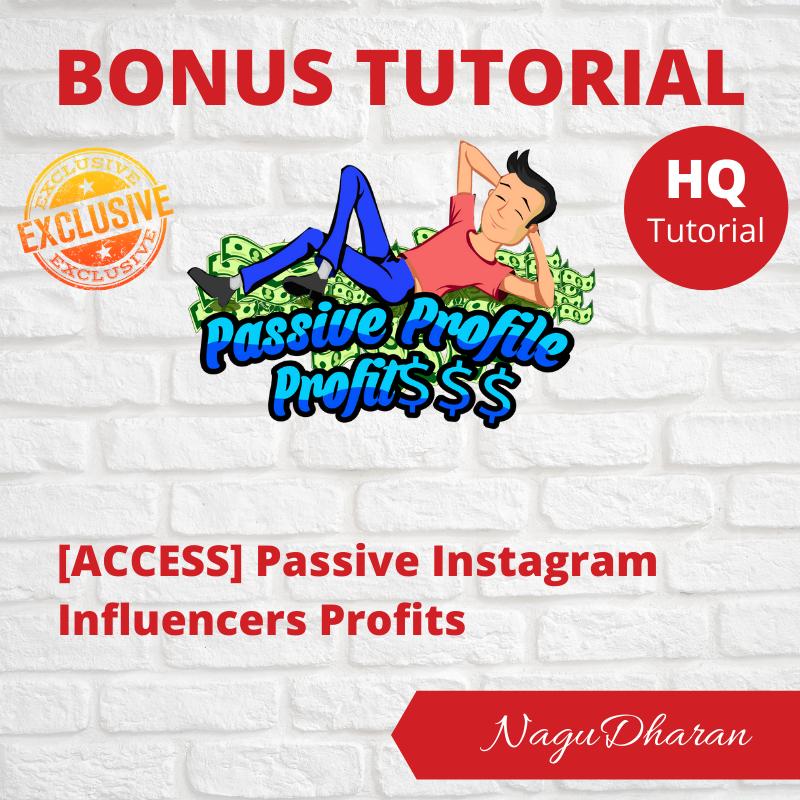 Passive Profile Profits Bonus#2